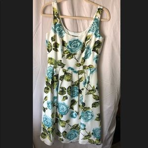Ann Taylor Floral Dress (Size 4)